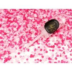 Vystreľovacie konfety PUSH POP, ružové mix