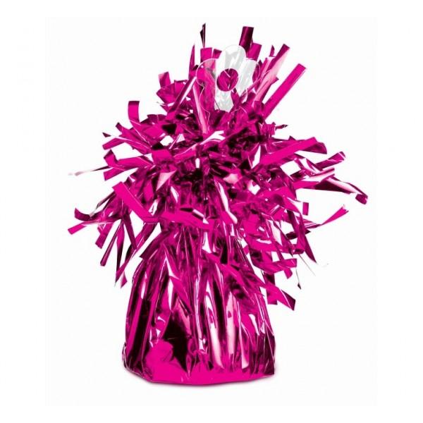 Závažie na balón fóliované ružové
