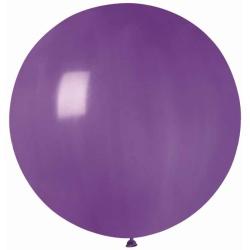 Balón veľký pastelový fialový, 80cm