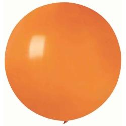 Balón veľký pastelový oranžový, 80cm