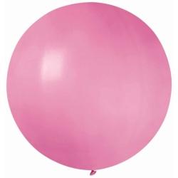 Balón veľký pastelový ružový, 80cm