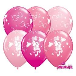 Balóny Minnie ružové, 30cm, 1ks