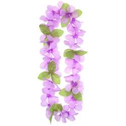 Havajský náhrdelník fialový, 120cm