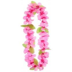 Havajský náhrdelník ružový, 120cm