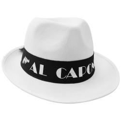 Klobúk AL Capone, biely