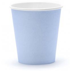 Papierové poháre modré, 6ks
