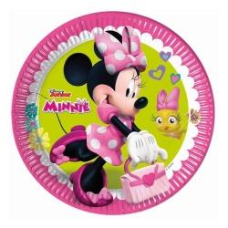 Papierové taniere Minnie, 23cm, 8ks