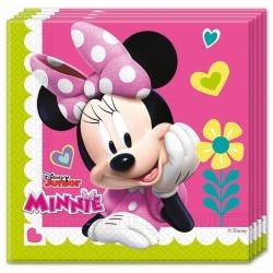 Servítky Minnie, 33x33cm, 20ks