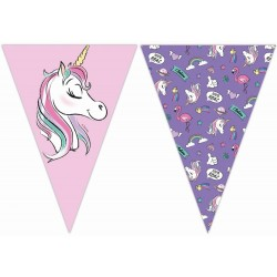 Závesné vlajky Minnie Unicorn, 230cm