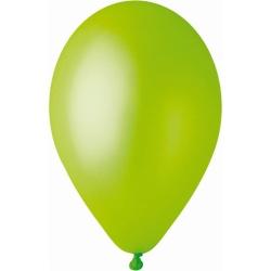 Balón metalický bledozelený, 26cm, 1ks