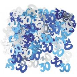 Konfety 30. narodeniny modré, 14g