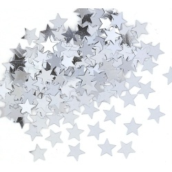 Konfety strieborné hviezdy, 14g