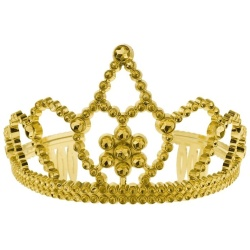 Korunka pre princeznu zlatá
