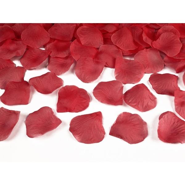 Lupene z ruží červené, 100ks