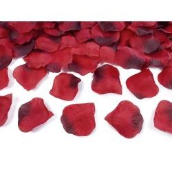 Lupene z ruží červeno-čierne, 100ks