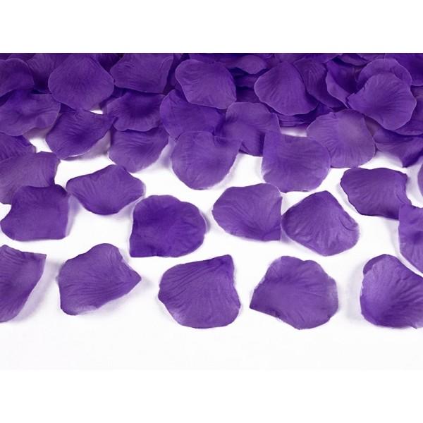 Lupene z ruží fialové, 100ks