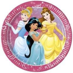 Papierové taniere Disney Princess, 23cm, 8ks