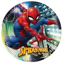 Papierové taniere Spiderman, 23cm, 8ks