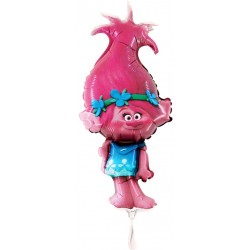 Fóliový balón Trollovia Poppy, 35cm