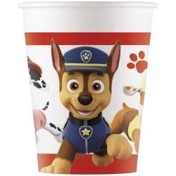 Papierové poháre Tlapková patrola - PAW patrol, 200ml, 8ks