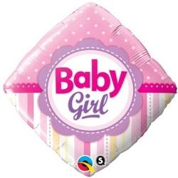 Fóliový balón Baby Girl, 46cm