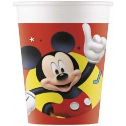 Papierové poháre Mickey Mouse, 8ks