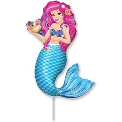 Fóliový balón Mermaid Zoe, 35cm