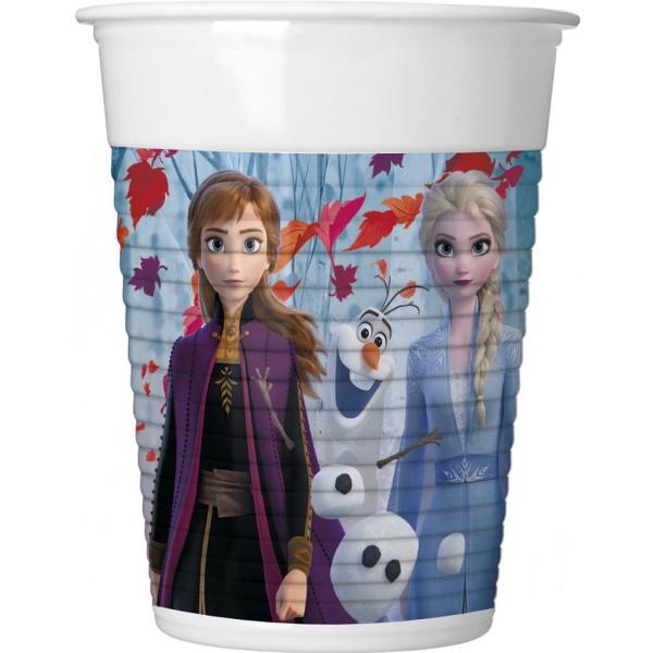 Plastový pohár FROZEN 2, 200ml, 8ks