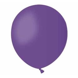 Balón pastelový fialový, 13cm, 1ks