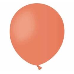 Balón pastelový oranžový, 13cm, 1ks