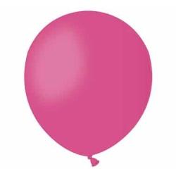 Balón pastelový tmavoružový, 13cm, 1ks