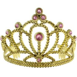 Korunka pre princeznú zlatá s kamienkami