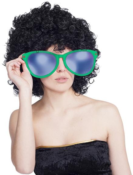 Okuliare Jumbo zelené