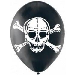 Balóny lepka čierny, 28cm, 6ks