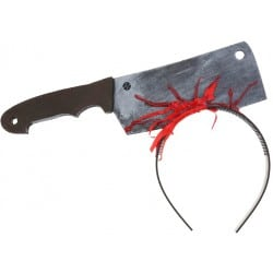 Čelenka krvavý sekáčik, Halloween