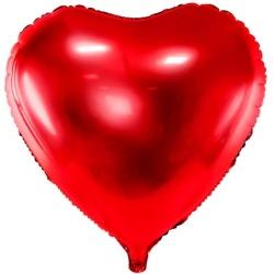 Fóliový balón červené srdce, 45cm