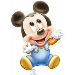 Fóliový balón Mickey Baby, 51x84cm