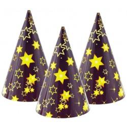 Papierové klobúčiky Hviezdy, 1ks