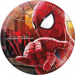 Papierové taniere Spiderman 2, 8ks, 23cm