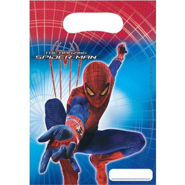 Párty tašky Spiderman, 6ks