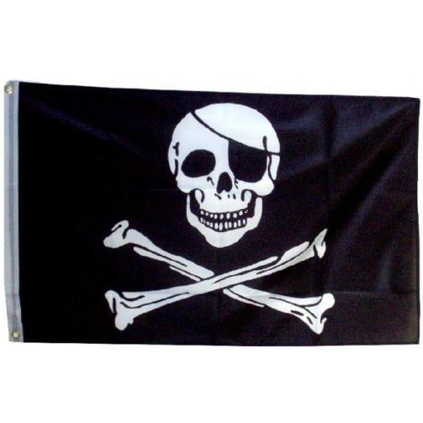 Pirátska vlajka, 150x90cm