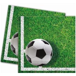 Servítky futbal, 33x33cm, 20ks