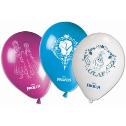 Balóny Frozen, 25cm, 8ks
