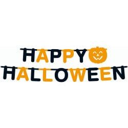 Girlanda Happy Halloween veľká, 350x23cm