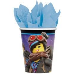 Papierové poháre Lego Movie 2, 260ml, 8ks