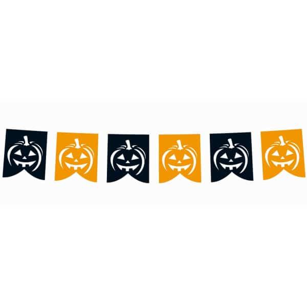 Girlanda Halloween tekvičky, 281x21cm