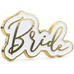 Odznak Bride, 35x20mm