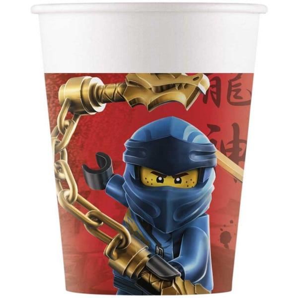 Papierové poháre Lego Ninjago, 200ml, 8ks