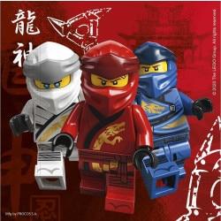 Servítky Lego Ninjago, 33x33cm, 16ks