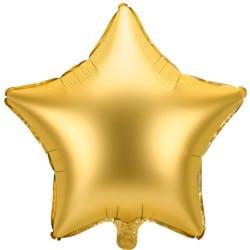 Fóliový balón zlatá hviezda, 48cm